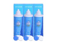 alensa.pt - Lentes de contacto - Solução Avizor All Clean Soft 3 x 350 ml