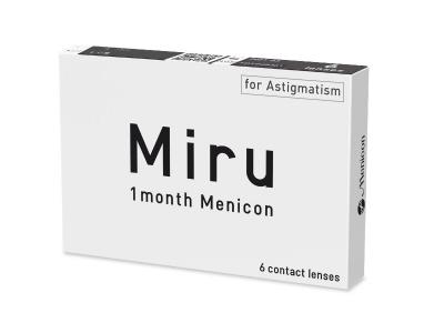 Miru 1 Month Menicon for Astigmatism (6 lentes)