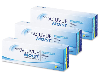 1 Day Acuvue Moist for Astigmatism (90lentes)