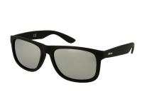 alensa.pt - Lentes de contacto - Óculos de Sol Alensa Desporto Espelhado Preto Prata