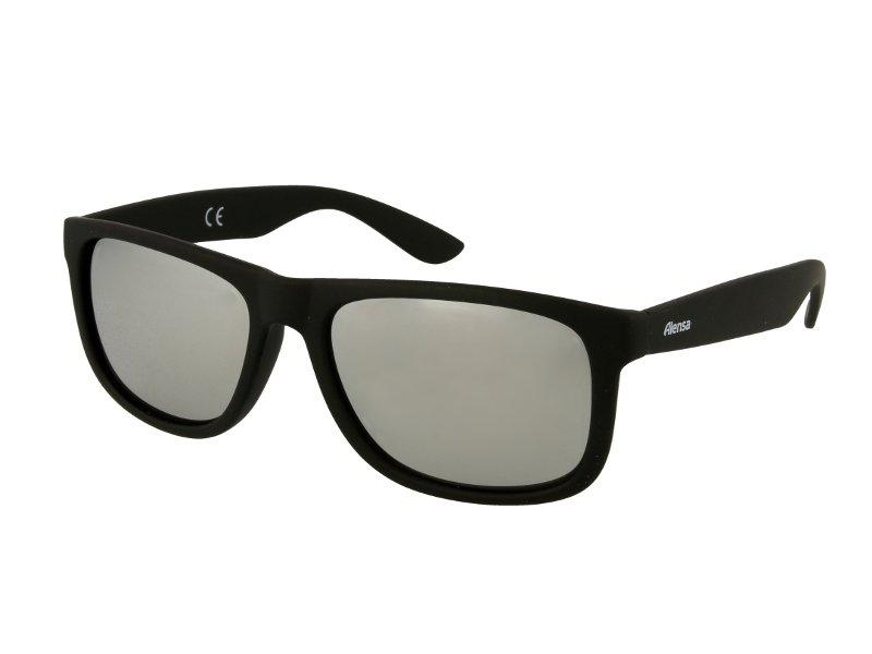 967ab22fa Óculos de Sol Alensa Desporto Espelhado Preto Prata | Alensa PT