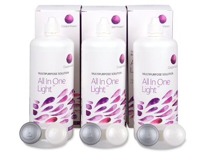 Solução All In One Light 3 x 360 ml