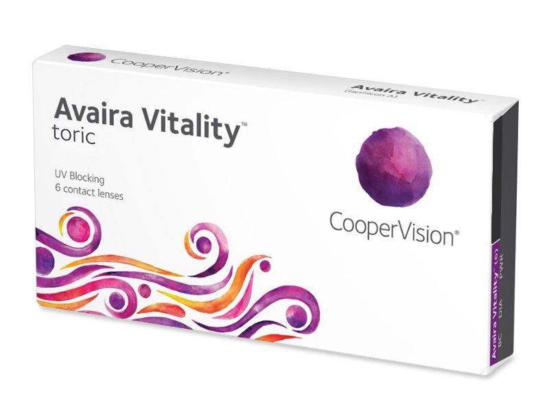 Avaira Vitality Toric (6 lentes)