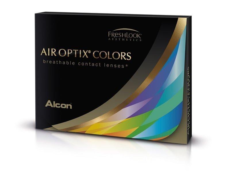 Lentes de Contacto Marrom com correção - Air Optix Colors (2lentes)