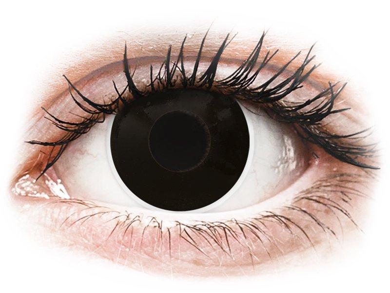 Lentes de Contacto Crazy Lens BlackOut  - ColourVUE (2 lentes)