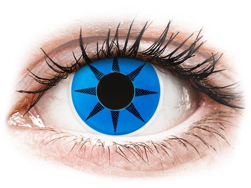 Lentes de Contacto Crazy Lens Estrela Azul Blue Star - ColourVUE (2 lentes)