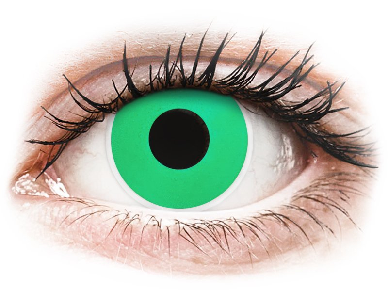 7efe4b364f838 ... Lentes de Contacto Crazy Lens Verde Esmeralda - ColourVUE (2 lentes) ...