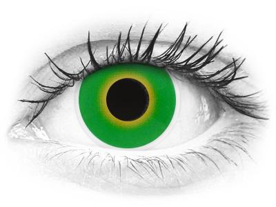 Lentes de Contacto Crazy Lens Verde Green Hulk - ColourVUE (2 lentes)