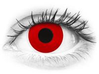 Lentes de Contacto Crazy Lens Vermelho Diabo Red Devil - ColourVUE (2 lentes)