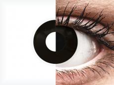 Lentes de Contacto Crazy Lens BlackOut com correção - ColourVUE (2 lentes)