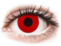 alensa.pt - Lentes de contacto - Lentes de Contacto Crazy Lens Vermelho Diabo Red Devil com correção - ColourVUE
