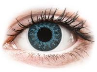 alensa.pt - Lentes de contacto - Lentes de Contacto Crazy Lens Azul Solar Solar Blue com correção - ColourVUE