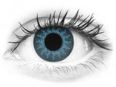 Lentes de Contacto Crazy Lens Azul Solar Solar Blue com correção - ColourVUE (2 lentes)
