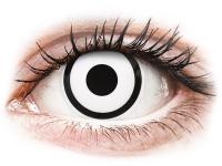 alensa.pt - Lentes de contacto - Lentes de Contacto Crazy Lens Zumbi Branco White Zoombie com correção - ColourVUE