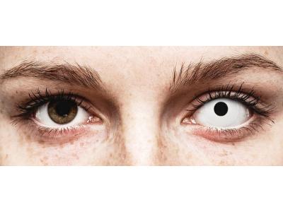 Lentes de Contacto Crazy Lens WhiteOut com correção - ColourVUE (2 lentes)