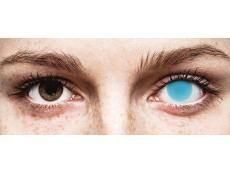 Lentes de Contacto Crazy Glow Azul Elétrico - ColourVUE (2lentes)