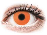 alensa.pt - Lentes de contacto - ColourVUE Crazy Glow Orange - sem correção