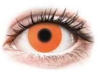 alensa.pt - Lentes de contacto - Lentes de Contacto Crazy Glow Laranja - ColourVUE