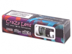 Lentes de Contacto Crazy Glow Laranja - ColourVUE (2lentes)