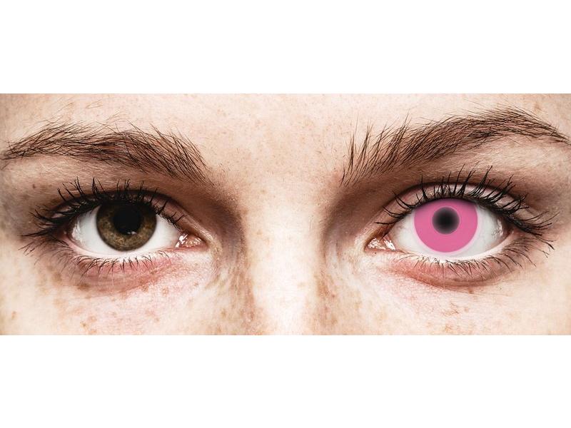 Lentes de Contacto Crazy Glow Rosa - ColourVUE (2lentes)