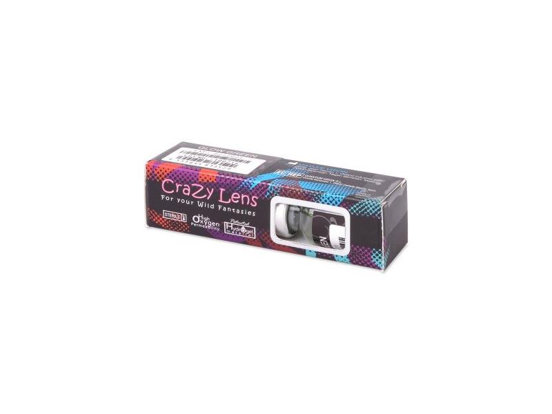 Lentes de Contacto Crazy Glow Branca - ColourVUE (2lentes)