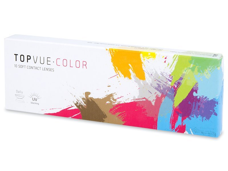 TopVue Color daily - Blue - com correção (10lentes)