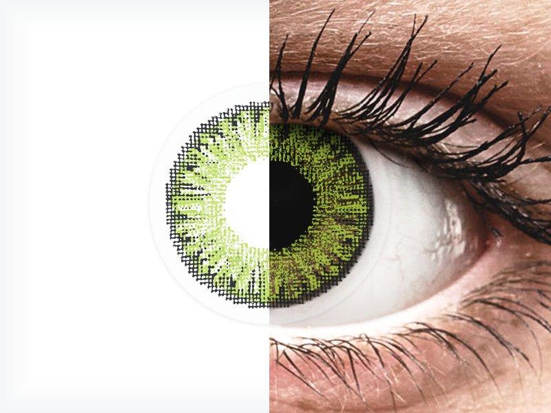 TopVue Color daily - Fresh green - com correção (10lentes)