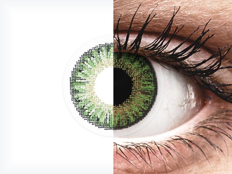 TopVue Color daily - Green - com correção (10lentes)