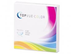 TopVue Color - True Sapphire - com correção (2lentes)