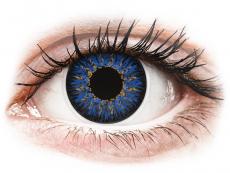 Lentes de Contacto Glamour Azul com correção - ColourVUE (2lentes)