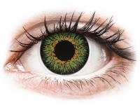 alensa.pt - Lentes de contacto - Lentes de Contacto Glamour Verde com correção - ColourVUE