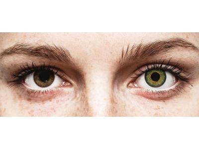 Lentes de Contacto Glamour Verde com correção - ColourVUE (2lentes)