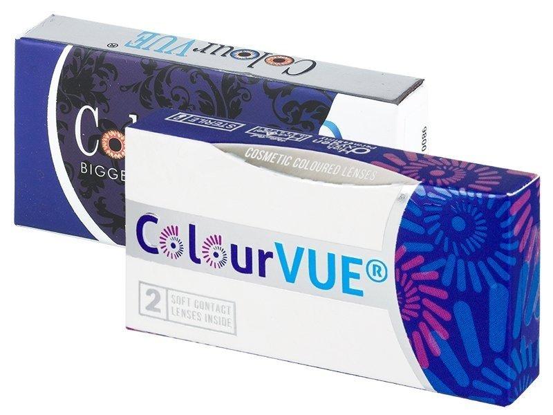 Lentes de Contacto Glamour Cinza - ColourVUE (2lentes)