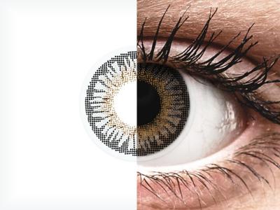 Lentes de Contacto 3 Tones Cinza - com correção - ColourVUE (2lentes)