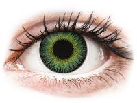 alensa.pt - Lentes de contacto - Lentes de Contacto Fusion Verde Amarelado com correção - ColourVUE