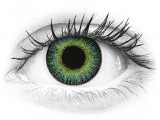 Lentes de Contacto Fusion Verde Amarelado com correção - ColourVUE (2lentes)