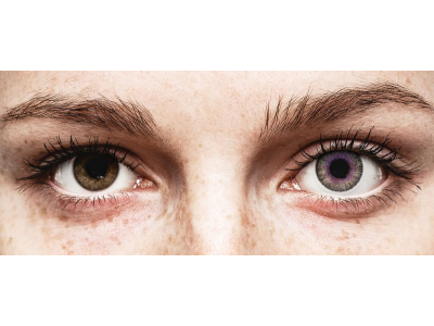 Lentes de Contacto Fusion Violeta Acinzentado - ColourVUE (2lentes)