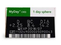 MyDay Daily Disposable (30lentes)
