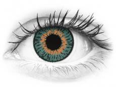 Lentes de Contacto Expressions Colors Água com correção (1 lente)