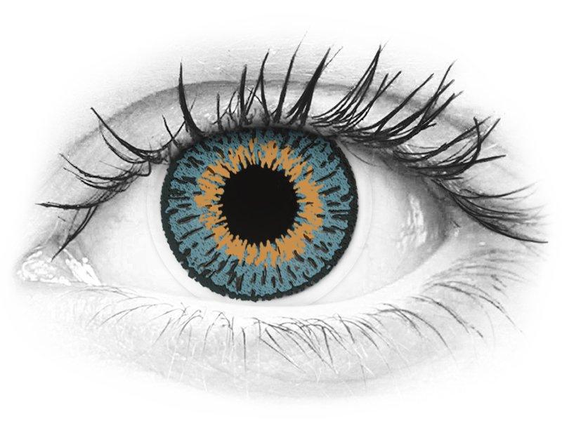 Lentes de Contacto Expressions Colors Azul (1 lente)