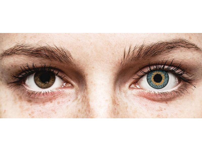 Lentes de Contacto Expressions Colors Azul com correção (1 lente)
