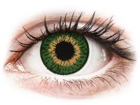 alensa.pt - Lentes de contacto - Lentes de Contacto Expressions Colors Verde com correção