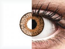 Lentes de Contacto Expressions Colors Avelã com correção (1 lente)