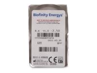 Biofinity Energys (3 lentes)