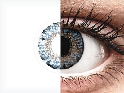 FreshLook ColorBlends Blue - com correção (2 lentes)