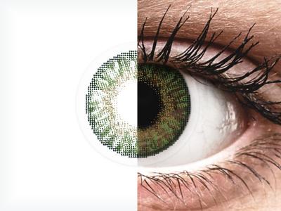 FreshLook ColorBlends Gemstone Green - sem correção (2 lentes)