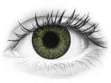 FreshLook ColorBlends Green - com correção (2 lentes)