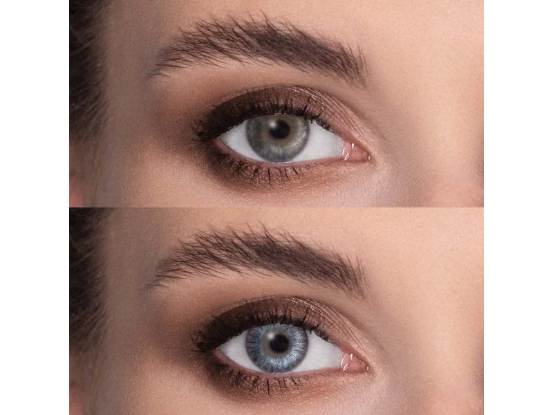 FreshLook ColorBlends Sterling Gray - sem correção (2 lentes)
