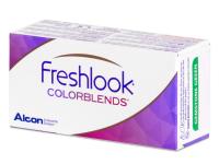 FreshLook ColorBlends True Sapphire - sem correção (2 lentes)