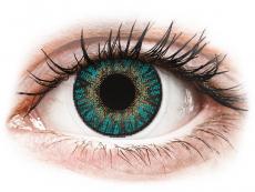 FreshLook ColorBlends Turquoise - com correção (2 lentes)